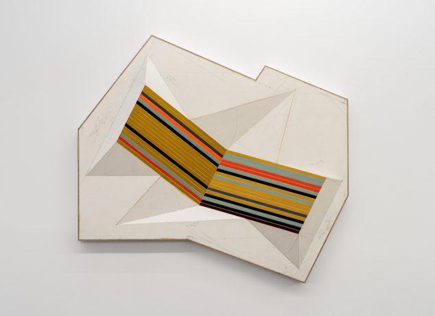 Jay Gard: Atlas, 2015, 97 x 127 x 12 cm. Gether Contemporary