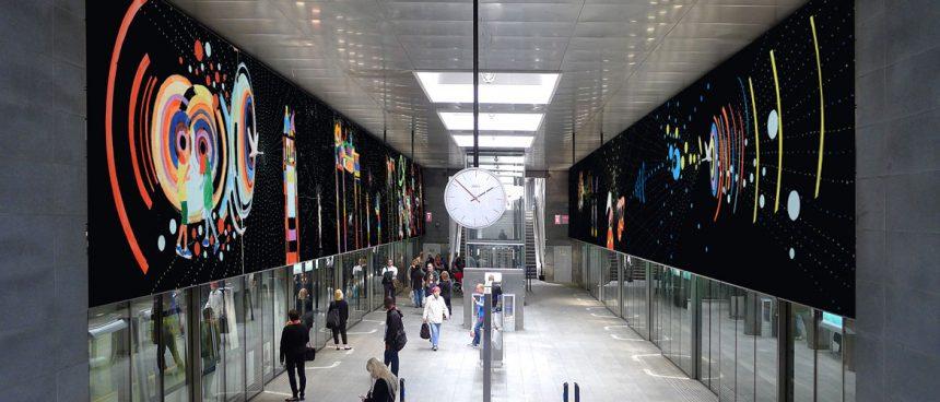 Kunsten rykker ind på Sydhavnslinjen