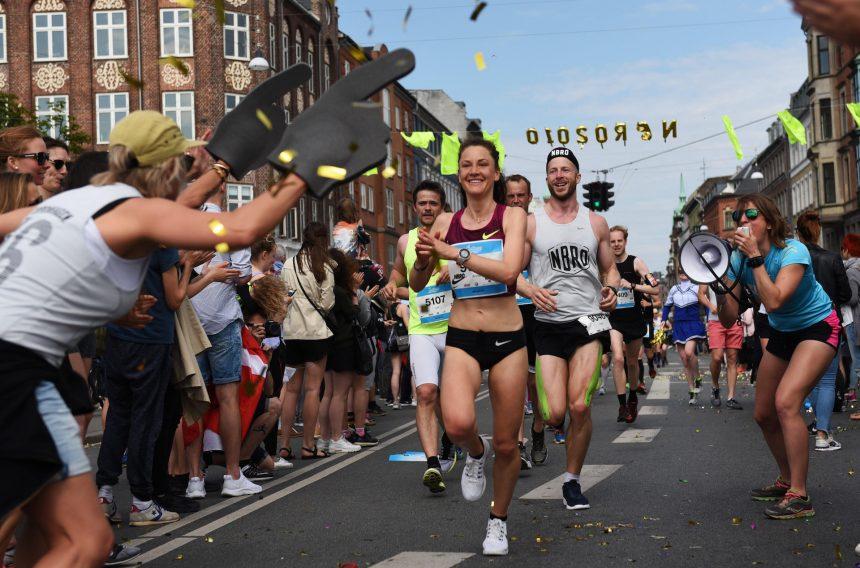 Lydkunst følger maratonløbere gennem København