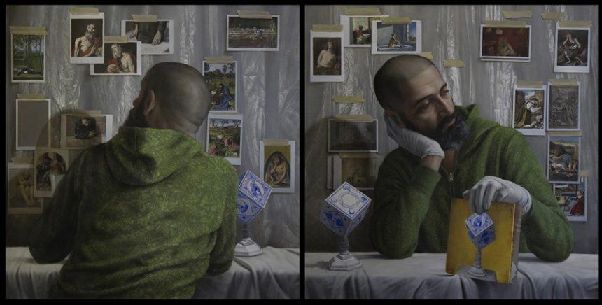 Spansk selvportræt hædres med pris
