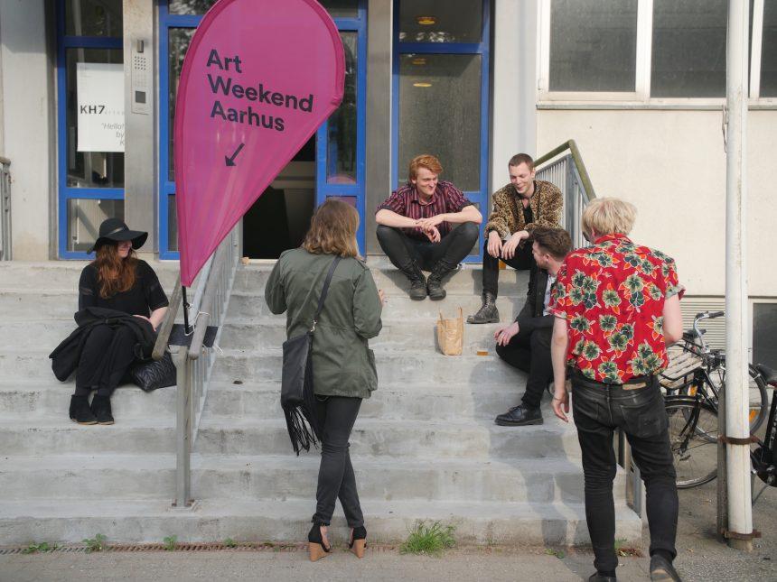 Nye netværker under Art Weekend Aarhus