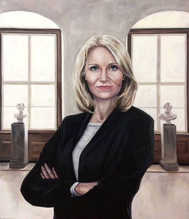 Portræt af en karrierekvinde