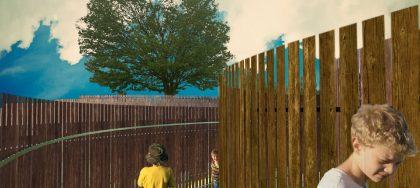 En kunstlabyrint vokser frem i Horsens