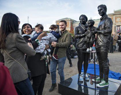 Sådan ser en 'rigtig' dansk familie ud