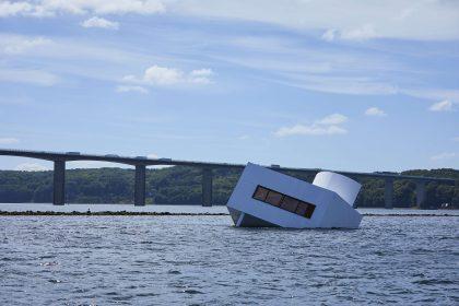 Kunstværk i dansk fjord får international opmærksomhed
