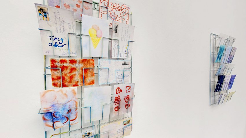 Billedserie: Johanne Skovbo Lasgaards udstilling Ice Cream Zombie Days