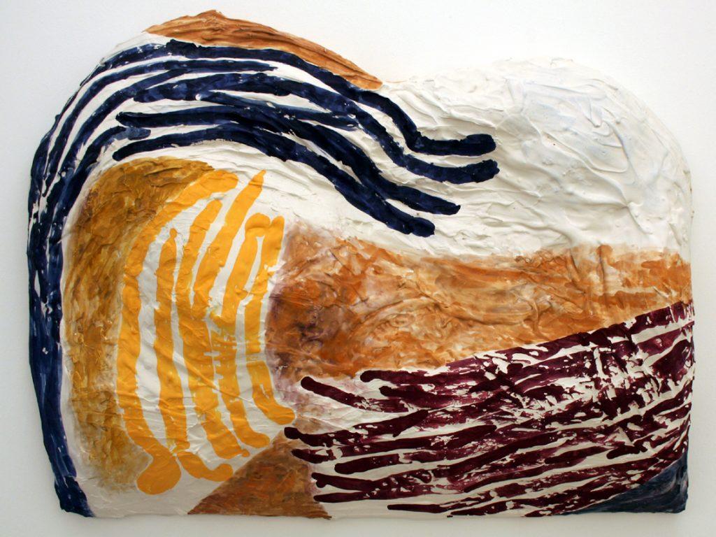 Værk fra Milena Bonifacinis udstilling Nye Tavler