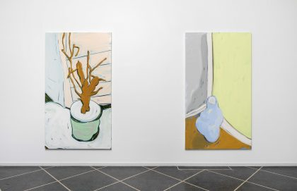 Billedserie: New Paintings af Morten Buch
