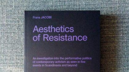 Ny bog af Frans Jacobi: Aesthetics of Resistance