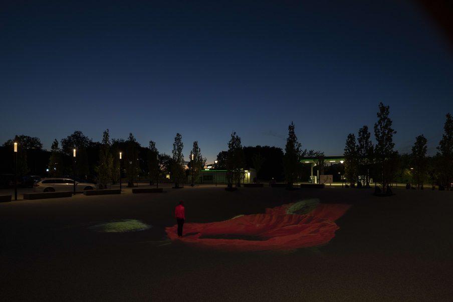 Indvielse af skulpturel videoinstallation i Kokkedal
