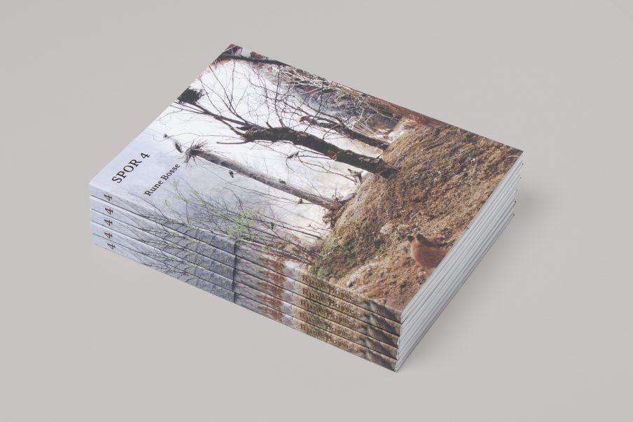 Boglancering: Rune Bosse i bogserien SPOR