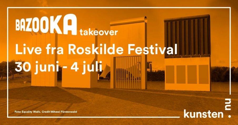 Kom med bagom kunsten på Roskilde Festival – live!