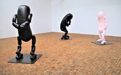 Erwin Wurms skulpturer varer et minut