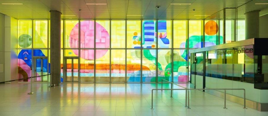 Billedserie: To nye kunstudsmykninger i Københavns Lufthavn