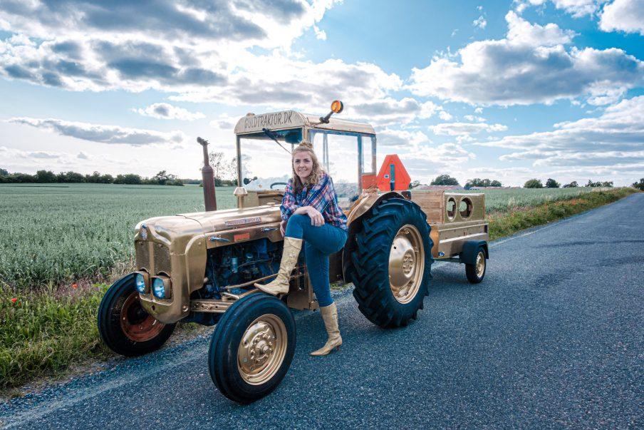 Guldtraktor indsamler historier på Fyn