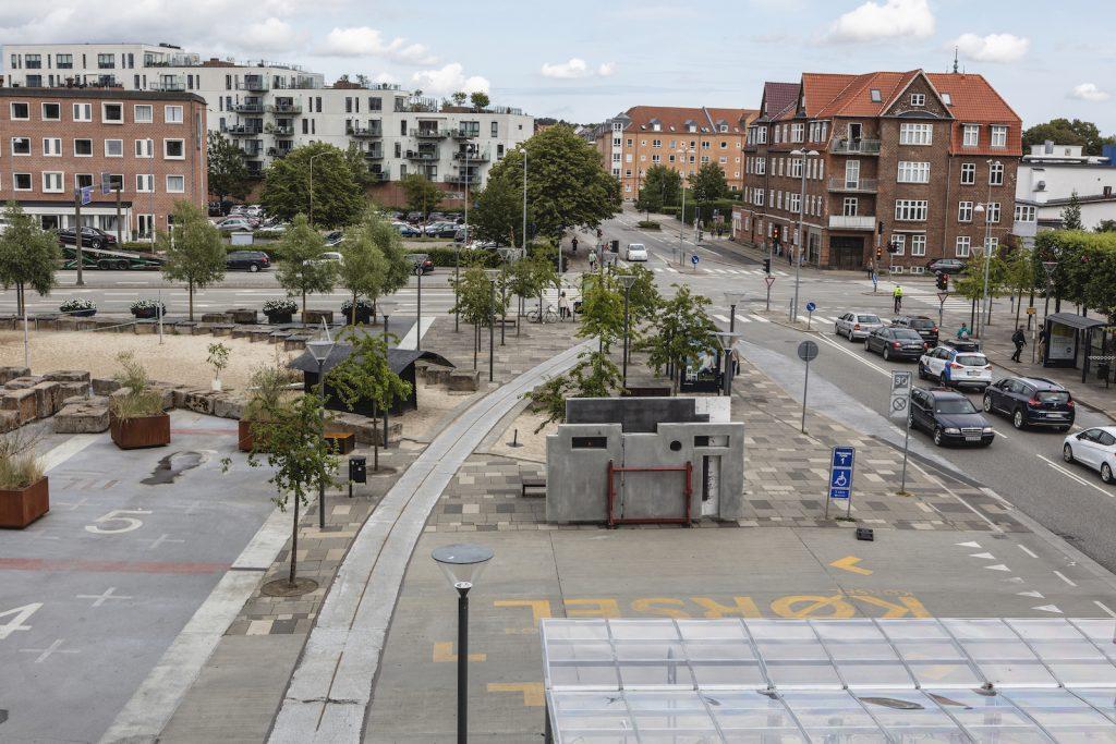 Provisorisk landskab Danebod og Olsen