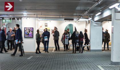 Kunstmesse i p-kælder i Aalborg
