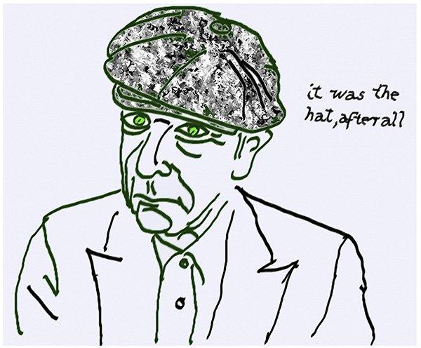 Leonard Cohen, Self Portrait. A Crack in Everything, Kunstforeningen GL STRAND, Nikolaj Kunsthal, København.
