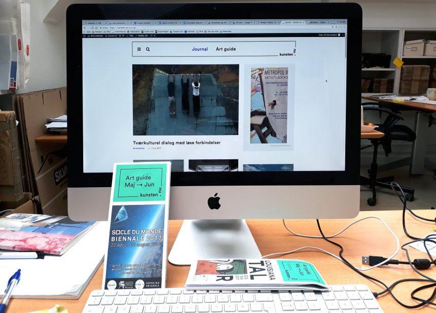 Jobopslag: Kunsten.nu søger ny medarbejder