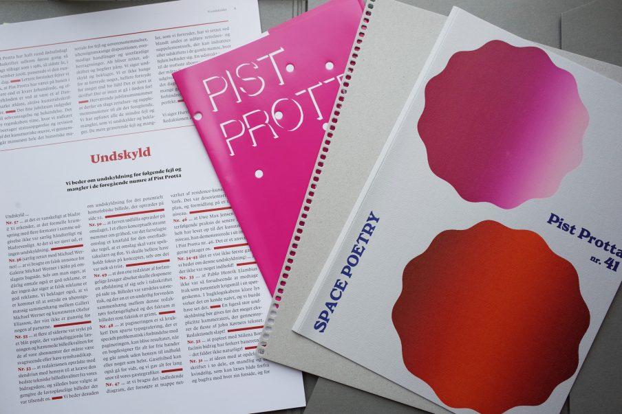 Kunstnertidsskriftet Pist Protta – et processuelt værk