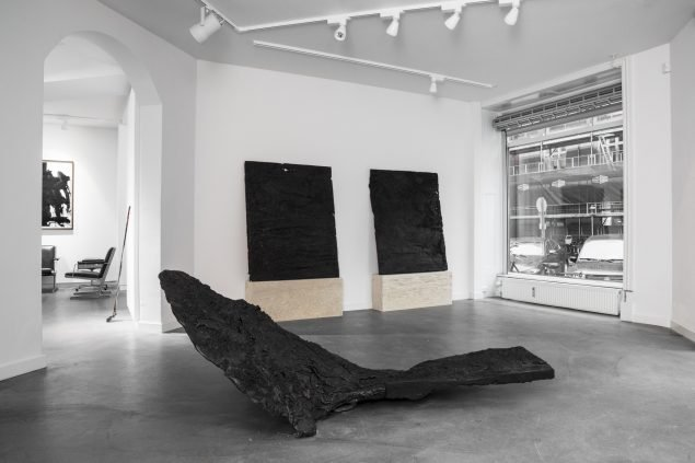 Christian Lemmerzs udstilling Uriel hos Hans Alf Gallery. Foto: Julie Nymann / Hans Alf Gallery.