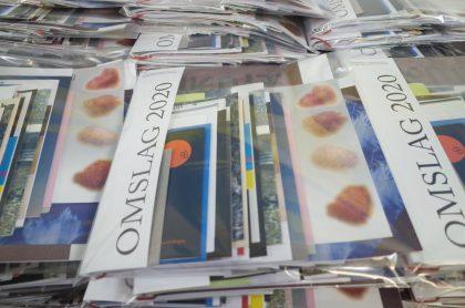 Udstilling på KH7 viser bogomslag uden indhold