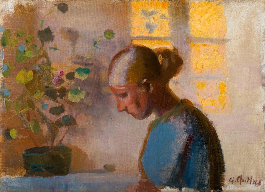"Anna Ancher på SMK, historieskrivning og ""kvindekunst"""