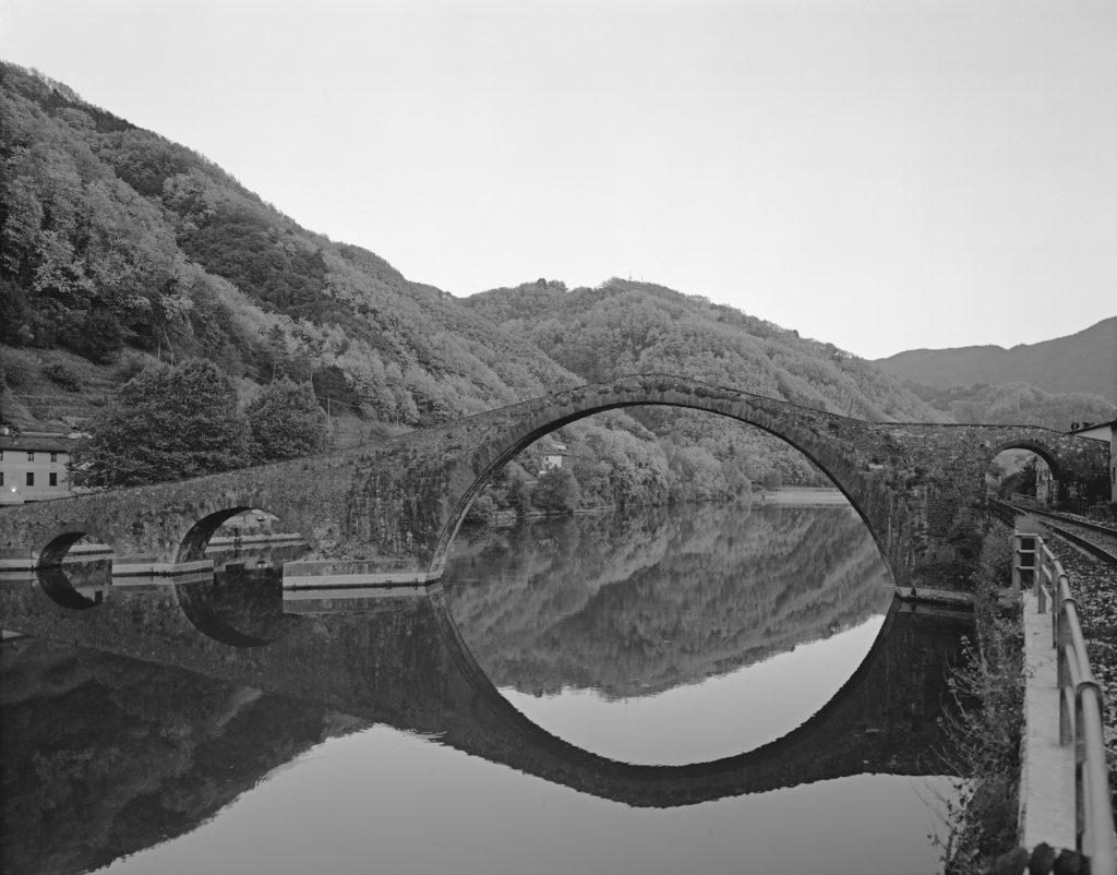 Ebbe Stub Wittrup, 'Devil's Bridge #2, Ponto del Diavolo, Borgo en Mozzano', (2009-2010). Courtesy: Kunstneren og Martin Asbæk Gallery