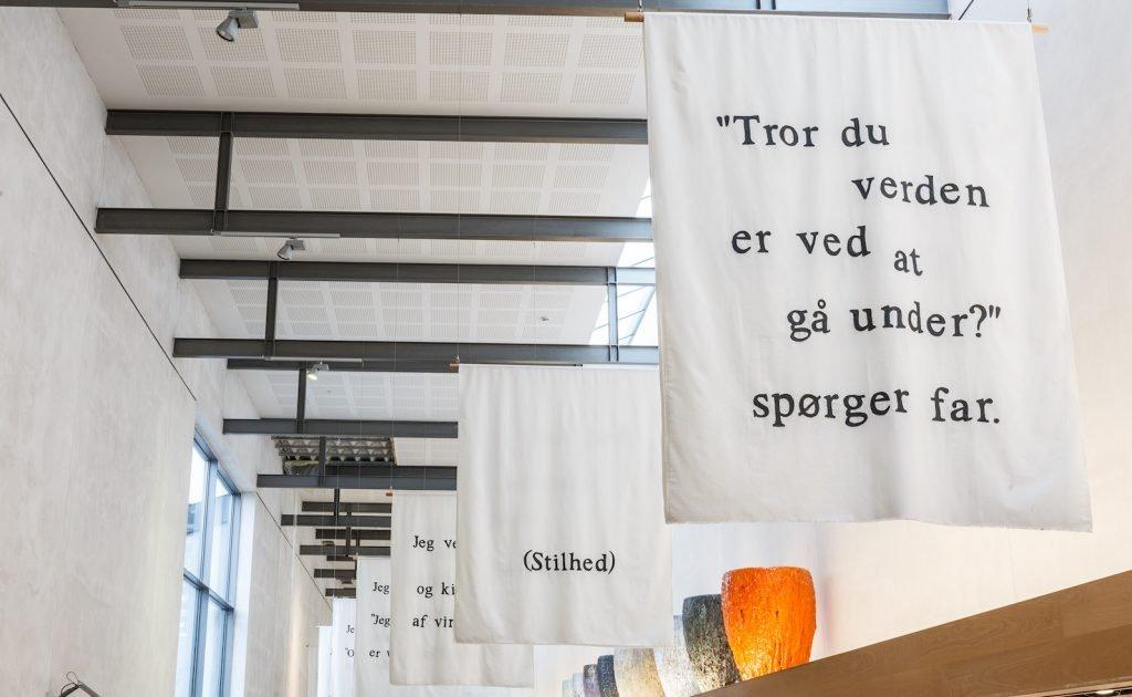 Mo Maja Moesgaard Interview, Vandrehallen, Hillerød Bibliotek, Og planterne kravler mod toppen