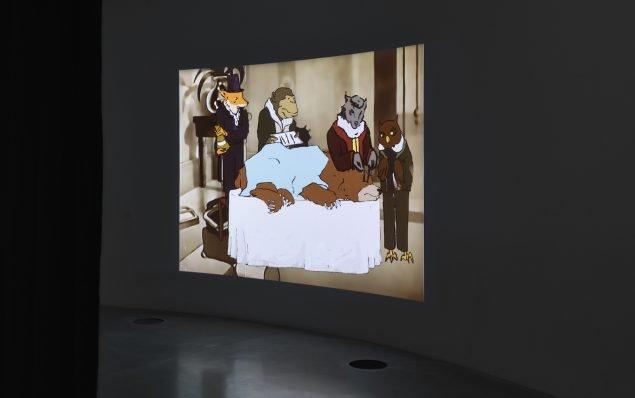 Unge kunstnerstemmer: Sophia Ioannou Gjerding, interview, Homage to Airway, HD Video. Installation view, ARoS Aarhus Kunstmuseum.