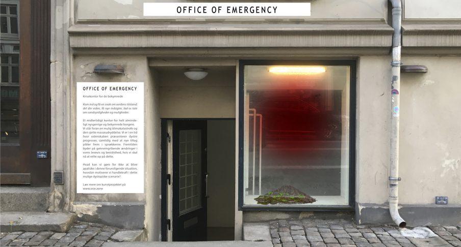 Klima-kunst-projektet Office of Emergency skaber rum for samtale