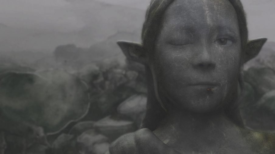 Interview, Unge kunstnerstemmer. Sophia Ioannou Gjerding: <i>Homage to Airway</i>, 2019. HD Video. ARoS Aarhus Kunstmuseum. Foto: Mikkel Kaldal.