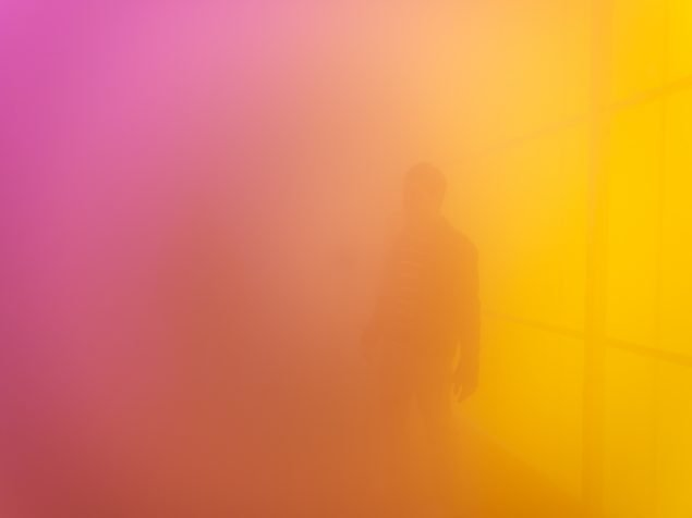 Ann Veronica Janssens Hot Pink Turquoise Louisiana Museum of Modern Art