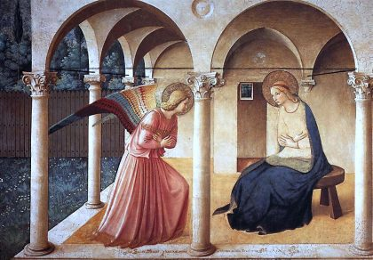 Dagens kunstværk – Ditte Ejlerskov: Bebudelsen af Fra Angelico