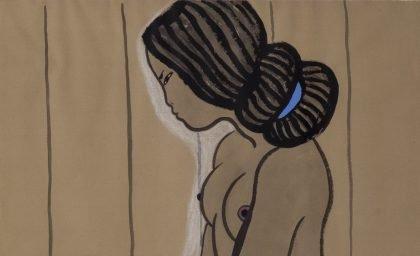 Er det foragteligt, at en ældre, dansk mand malede ung, halvnøgen, grønlandsk kvinde?