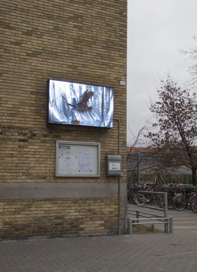 Marie-Louise Vittrup: Charlie's Slow-Mo Kung Fu Foto: Nils Elvebakk Skalegård, lundtoftegade til vægs
