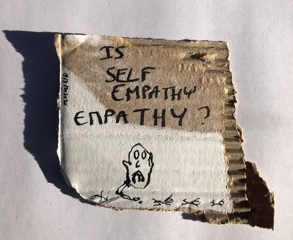 Thierry Geoffroy/Colonel: Is selfempathy empathy