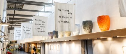 Mo Maja Moesgaard: Og planterne kravler mod toppen – Vandrehallen