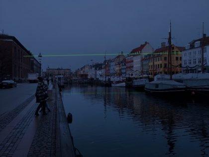 Nyt lysværk i anledning af 75-året for Danmarks Befrielse