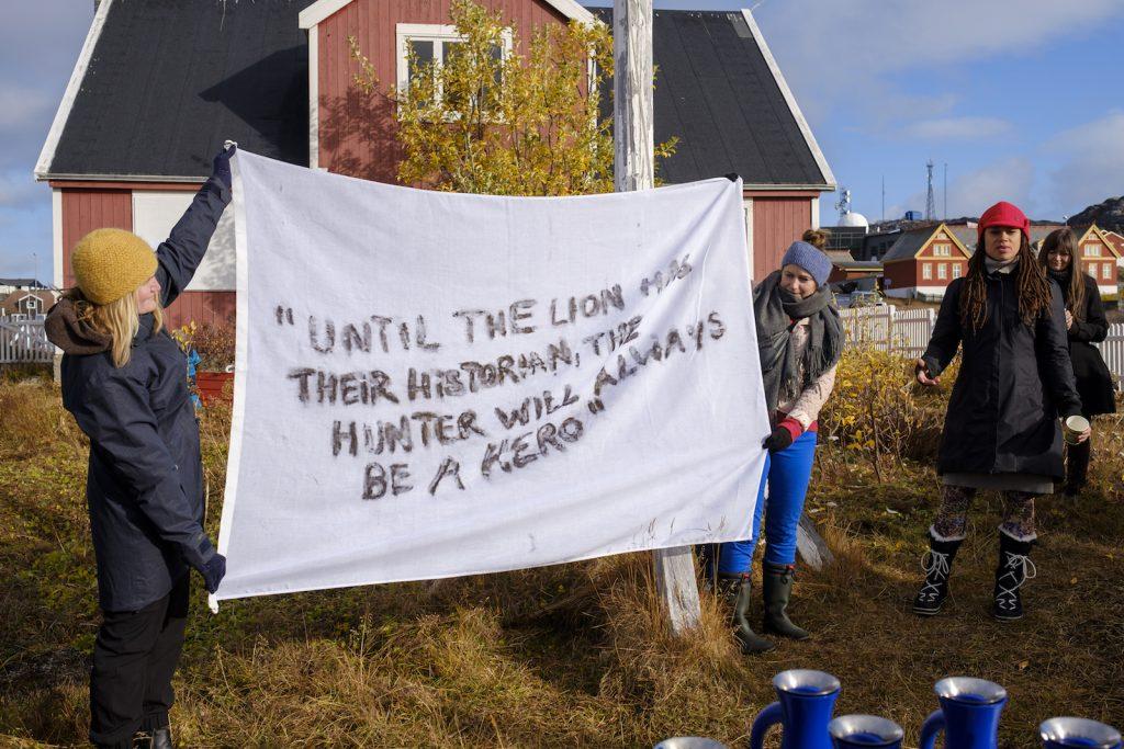 Jeannette Ehlers i Nuuk - Hvem skriver historien?