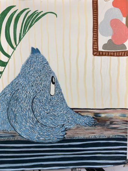 Bo Rune Madsen om 'Jeg har fået en hale' på Format Artspace – en udstilling du ikke kan se