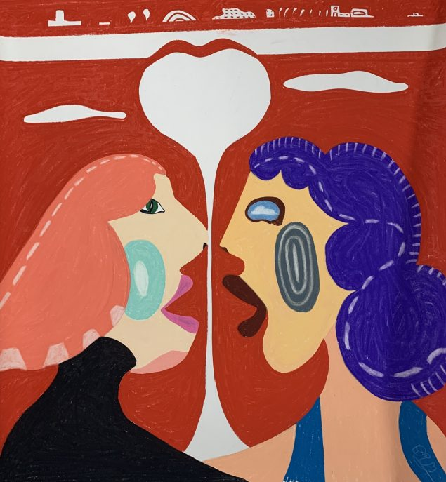 Rune Bo Madsen: <i>Uglen og Bulen</i>, 2020. Pressefoto, Format Artspace jeg har fået en hale