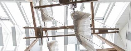 Dagens Kunstværk – Hannah Toticki Anbert: Svaneskulptur af Susanne Ussing