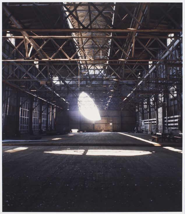 2: Gordon Matta-Clark: Day's End (Pier 52), 1975© The Estate of Gordon Matta-Clark / Artists Rights Society (ARS), New York Courtesy The Estate of Gordon Matta-Clark and David Zwirner