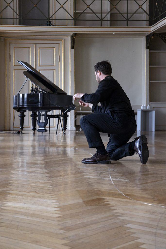 Jesper Just og August Rosenbaum: Koncert