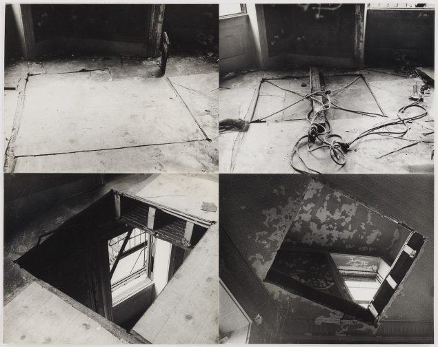 Gordon Matta-Clark: Bronx Floor: Boston Road, 1973 © The Estate of Gordon Matta-Clark / Artists Rights Society (ARS), New York Courtesy The Estate of Gordon Matta-Clark and David Zwirner.