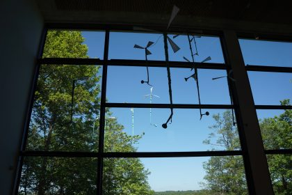Charlotte Petersen: Indre Friheds installation. 2020