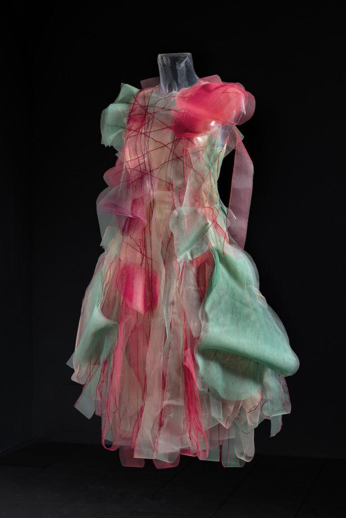 Anne Damgaard: Loud Dream, nylontyl, 2020