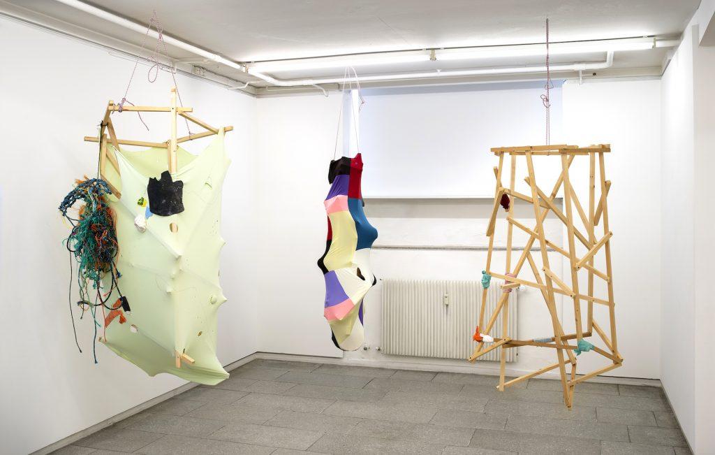 Ellen Hyllemose: The conception of a different landscape. Installationview. Foto: Jan Søndergaard.