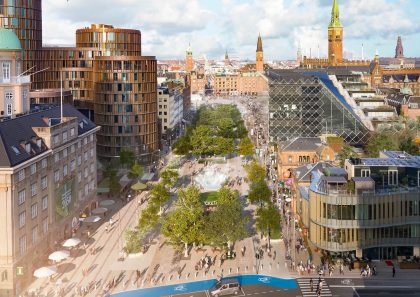 Olafur Eliasson og Sebastian Behmann skal designe ny bypark foran Tivoli